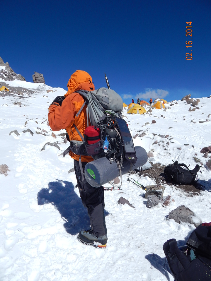 Heading up to Camp 3