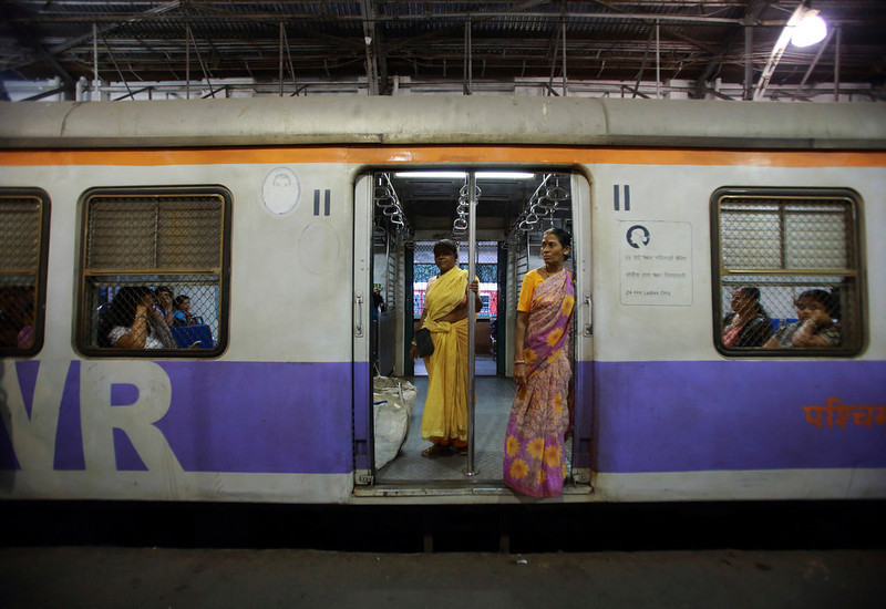 . Women are pictured inside a carriage as they wait for the Ladies\' Special train to move at Church Gate Railway Station in Mumbai December 6, 2012. In Mumbai there are two trains every day except Sunday reserved especially for women. In India some train compartments, or sometimes whole trains, are reserved specifically for female passengers in an effort to make their travel easier and more secure. The role and treatment of women in society has recently become a hot political issue in the country, since the Dec. 16 gang rape of a 23-year-old student in New Delhi, who later died of her injuries, and whose case has led to widespread protests in the region against violence against women. Picture taken December 6, 2012.          REUTERS/Navesh Chitrakar