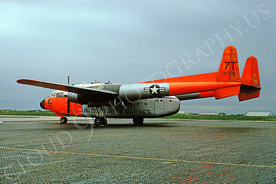 US Marine Corps Fairchild C-119 Flying Boxcar Military Airplane Pictures