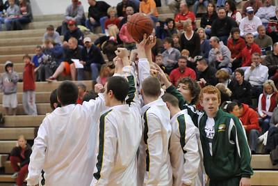 Boys Varsity Basketball - DCG 2010 Districts
