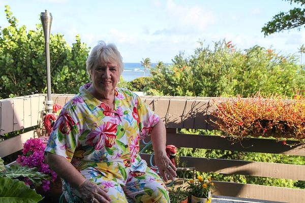 Anna Lynne and Colleen in Oahu, HI