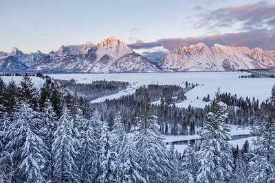 2017 Winter in the Tetons
