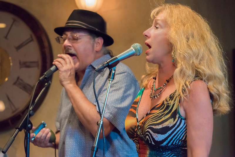 Dee Miller and Paul Menjia-The Dee Miller Band- The School II Bistro & Wine Bar