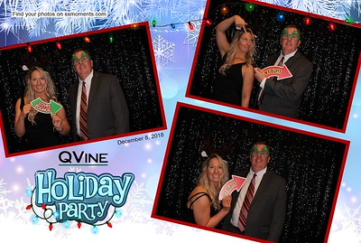 12/08/18 - QVine's Holiday Party