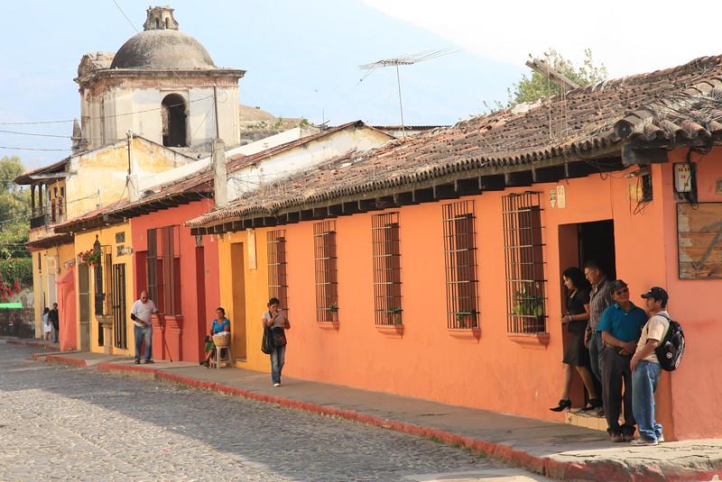 Uliczki w Antigua