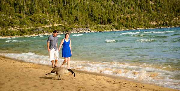 Kelly and Justin's Engagement at Lake Tahoe