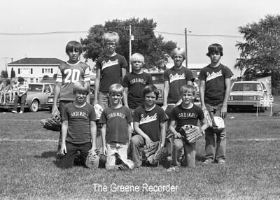1980 Baseball and softball