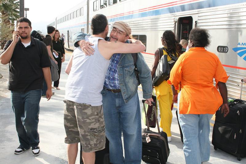 Amtrak Station, Palm Springs, California