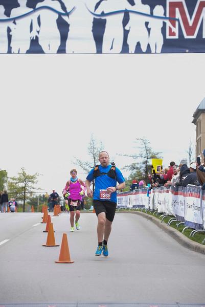 2017 CM Marathon finish
