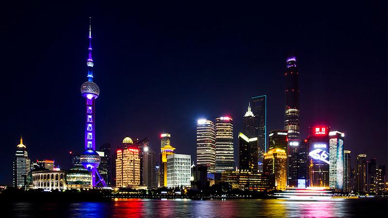 Lujiazui, Shanghai's financial district, China