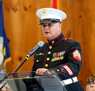 107th Cherokee Indian Fair Veterans Honoring event, October 11