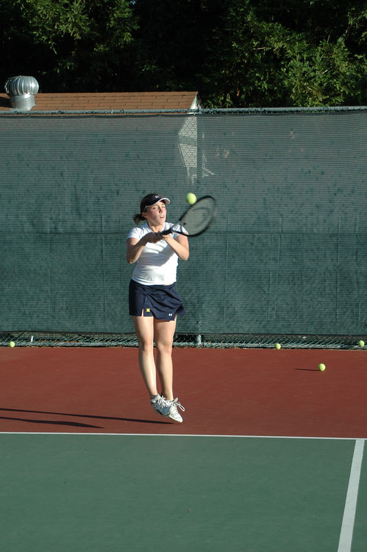 Menlo Girls Tennis 2005 - Player 2