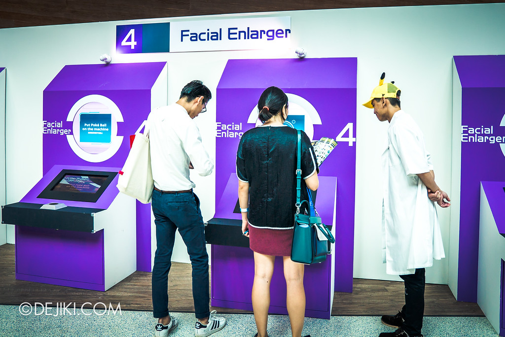 Pokémon Research Exhibition Launch -  Facial Enlarger