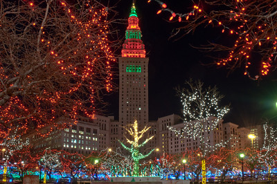 Cleveland at Christmas