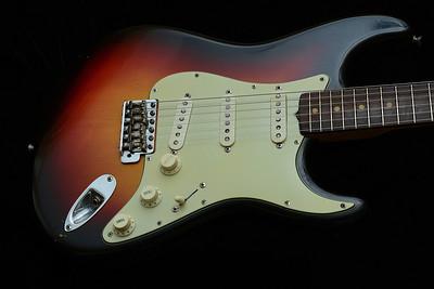 1961 Sunburst Fender Stratocaster