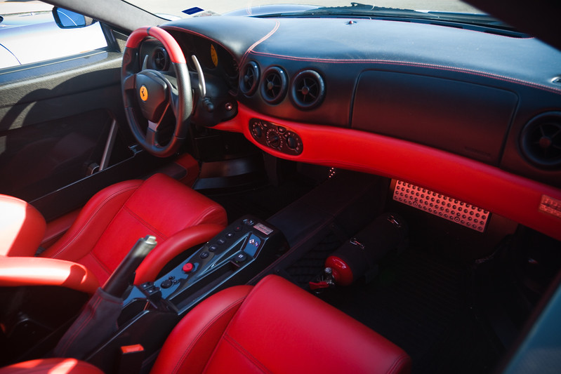 Red and black interior is smokin'...love the stitching