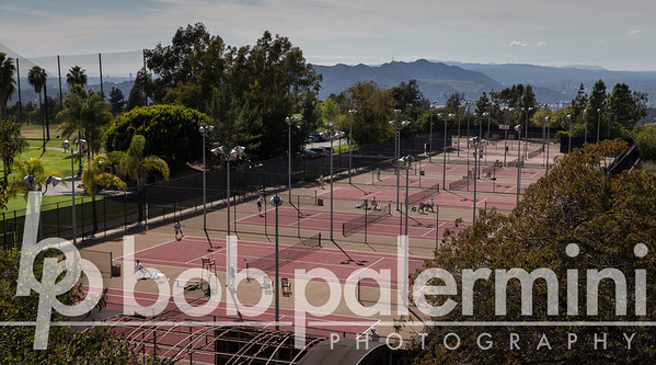Oxy Men's Tennis vs CalTech 3-4-14