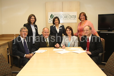 Bristol Hospital - Cancer Unit Paperwork Signing - August 19, 2008