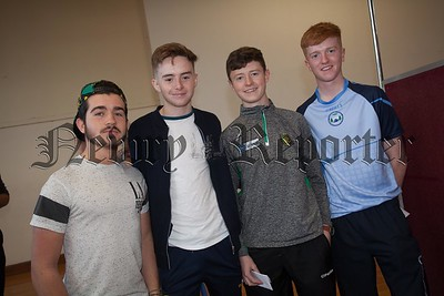 Darragh McSloy, Brendan Mackel, Shay McConville and Conall Gallagher. R1635016