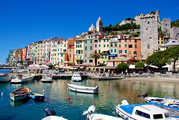 Italian Riviera, Tuscany and Florence, 2016
