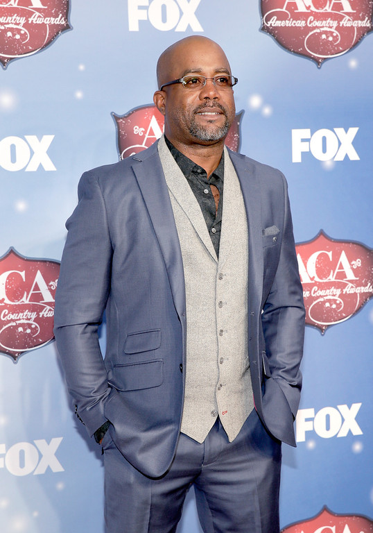. Recording artist Darius Rucker arrives at the 2013 American Country Awards at the Mandalay Bay Events Center on December 10, 2013 in Las Vegas, Nevada.  (Photo by Isaac Brekken/Getty Images)