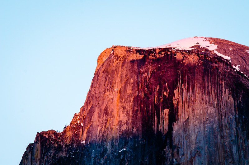 Half Lit, Half of Half Dome