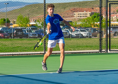 2019-04-13 Dixie HS Tennis - Drew Killian