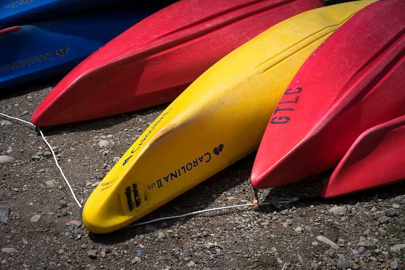 Bright Canoes