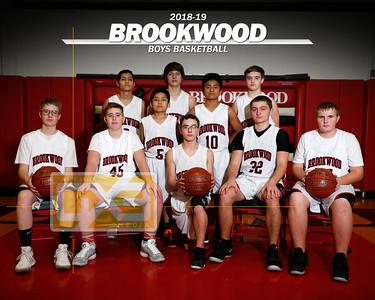 Brookwood boys' basketball BBB1819