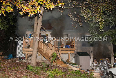 Joseph Ct. Fire (Shelton, CT) 10/7/12