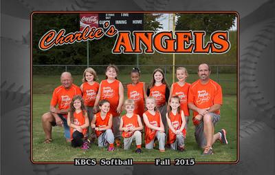 Charlie's Angels Softball - Fall 2015