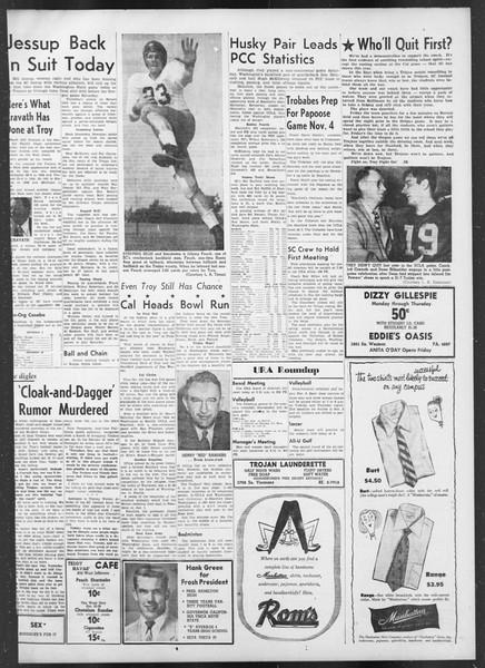 Daily Trojan, Vol. 42, No. 29, October 26, 1950