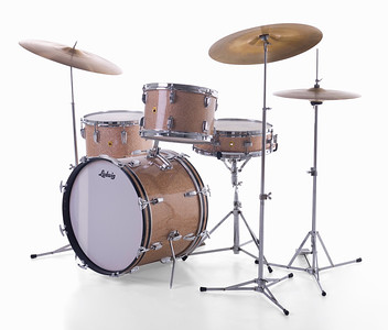 Ludwig Champagne Sparkle Downbeat