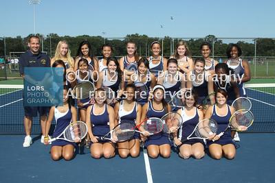 2011-10-5 Tennis Team Shots & Gymnastics