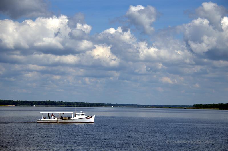 Workboat on the Choptank