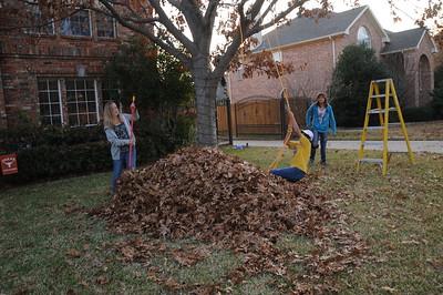 12-8-2012 Kids in Leaves