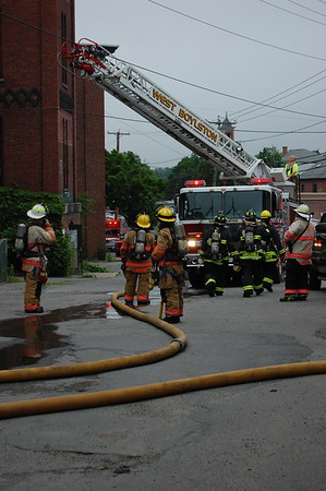 5 Alarm Structure Fire - 06/22/2020 - Main St. Clinton, MA -