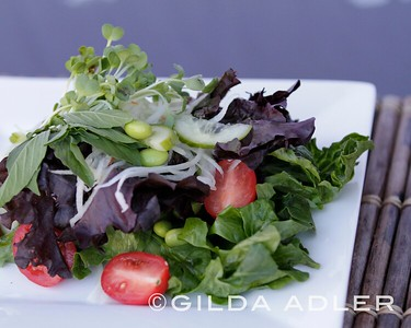 Salads, melts and ingredients