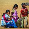 Beach Performers, Goa, India