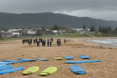 Winmalee High Surf camp 21 group 1