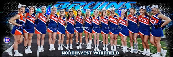 Cheerleaders at Ridgeland 23 Sept 2016