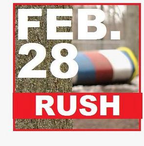 28 FEBRUARY (rush) latest mar. 4