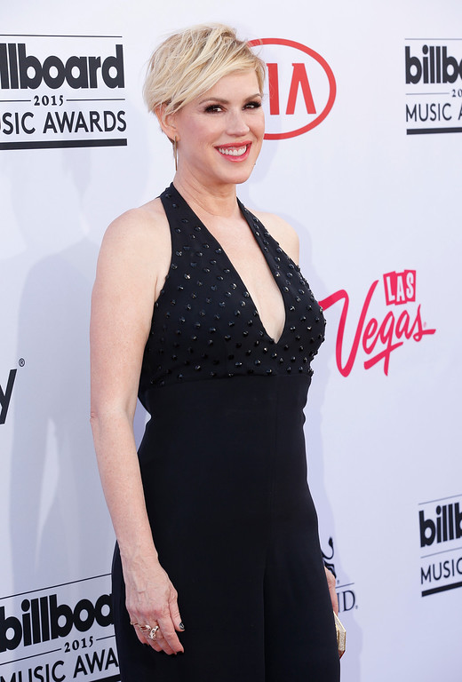 . Molly Ringwald arrives at the Billboard Music Awards at the MGM Grand Garden Arena on Sunday, May 17, 2015, in Las Vegas. (Photo by Eric Jamison/Invision/AP)