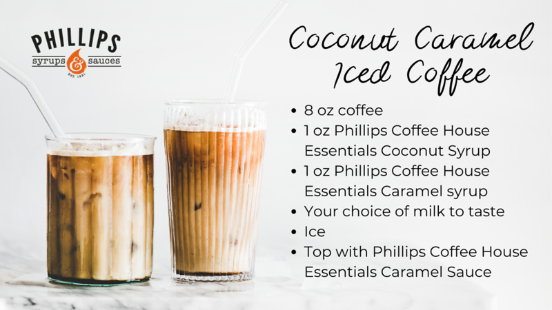 Coconut Caramel Iced Coffee