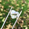 2.19ct Heart Portrait Cut Diamond, GIA J SI1 15