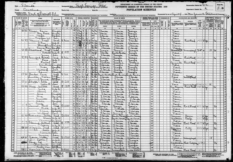 1930 census Edger Morrison family High Springs.jpg