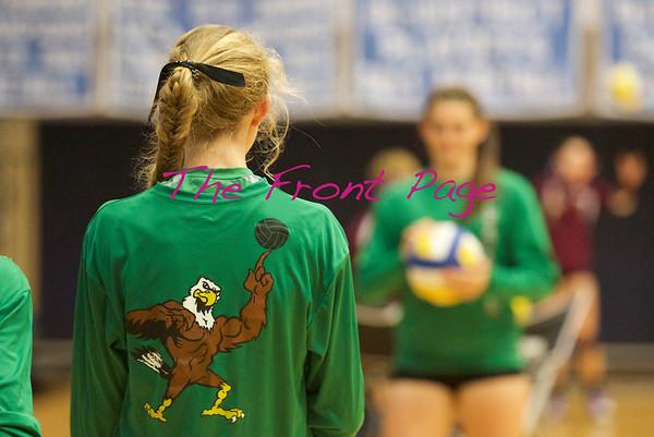 Lady Eagles vs Devine