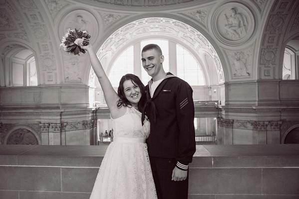 Cameron & Alycia San Francisco Court House Wedding
