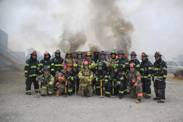 Nipsta Fire Academy Car Fires Fall 2014