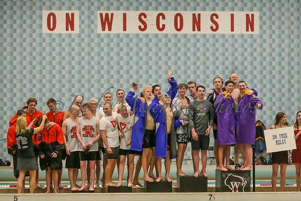 2/21/20 WIAA Div 2 State Swim Championships
